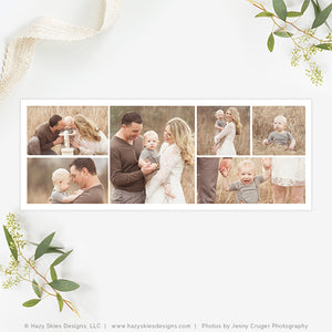 Facebook Cover Template | 6 Photo Collage
