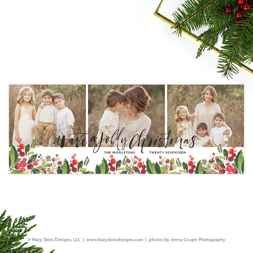 Facebook Cover Template | Have a Jolly Christmas