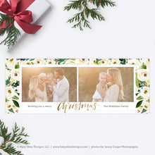 Facebook Cover Templates | Winter Floral Collection