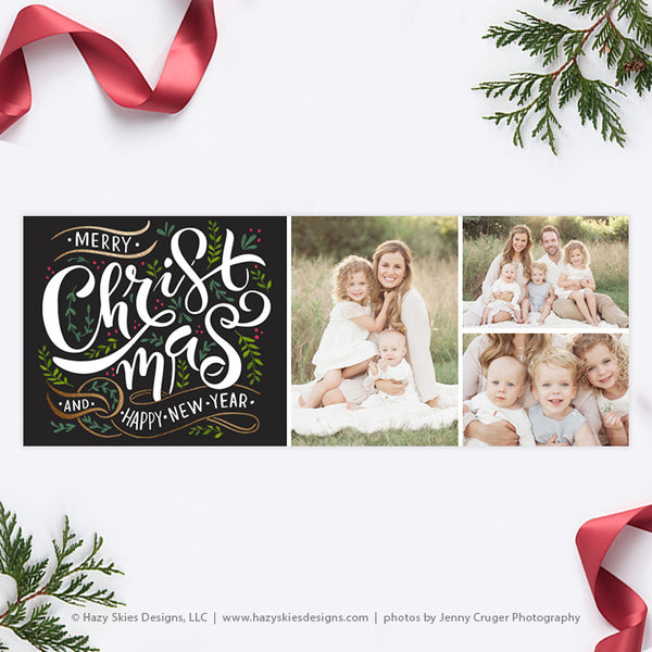 Facebook Cover Template | Christmas Foliage