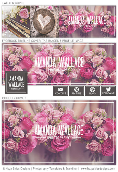 Social Media Cover Templates | Simply Modern