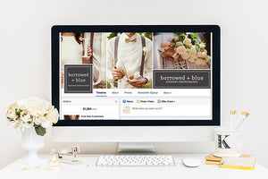 Social Media Cover Templates | Center of Attention