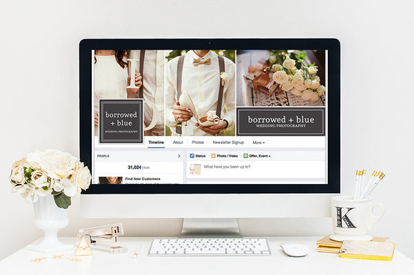 Facebook Cover Template | Center of Attention