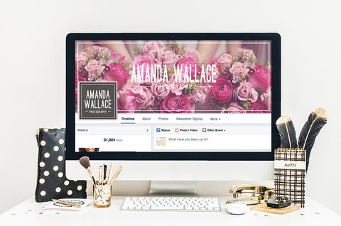 Facebook Cover Template | Simply Modern