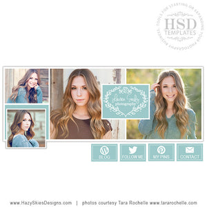 Facebook Cover Template | Autumn Sky