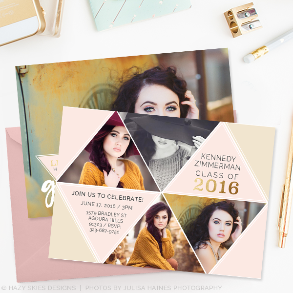 Senior graduation announcement template free spirit for Senior announcement templates free