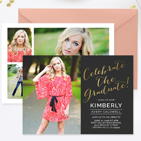 senior graduation announcement photoshop templates psd photoshop
