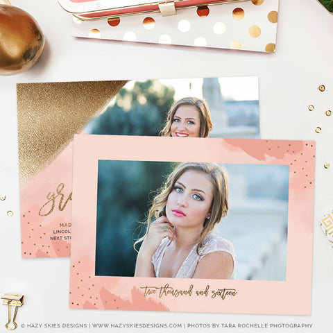 Senior Graduation Announcement Template | Charm