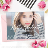 Senior Graduation Announcement Template | Courageous