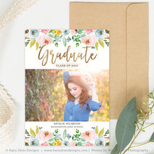 Senior Graduation Announcement Template | Time to Grow