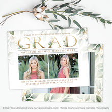 Graduation Announcement Template | Gorgeous Grad