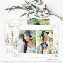 Graduation Announcement Template | Botanical Beauty