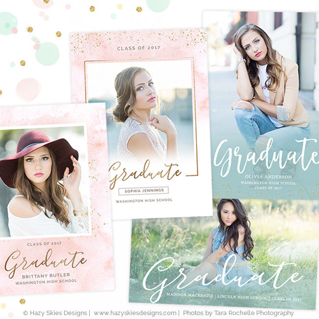 Senior Graduation Announcement Templates Graduation Invitation ...