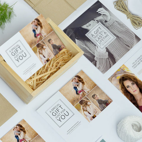Photography Studio Gift Certificate Templates | Gift Me