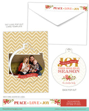 Luxe Pop Card Template for Photographers - JOY