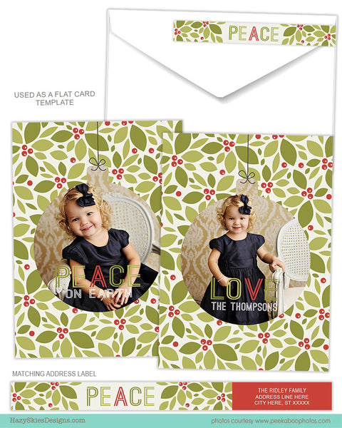 Luxe Pop Card Template for Photographers - Holly