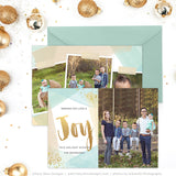 Holiday Card Template | Wishing Love & Joy