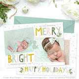 Holiday Card Template | Happy Holidays