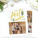 Christmas Card Template | Noel