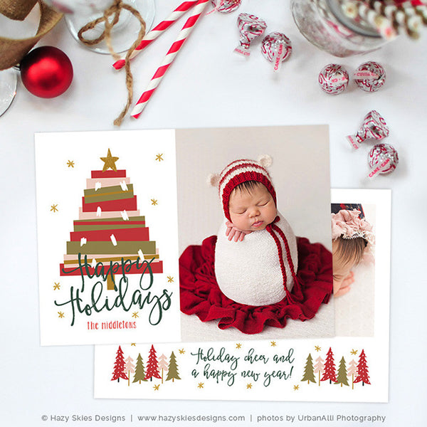 Christmas Card Template | Christmas Tree