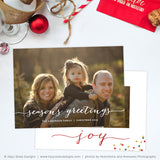 Holiday Card Template | Season's Greetings