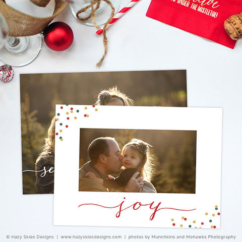 Christmas & Holiday Card Templates For Photographers – Photoshop