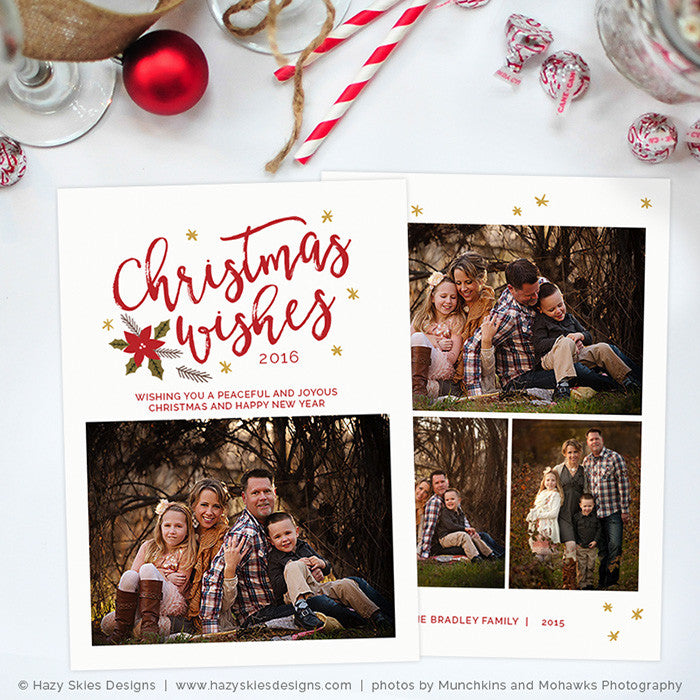 Christmas Card Templates.Christmas Card Template Christmas Wishes