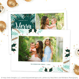 Christmas Card Template | Bright Holiday Season