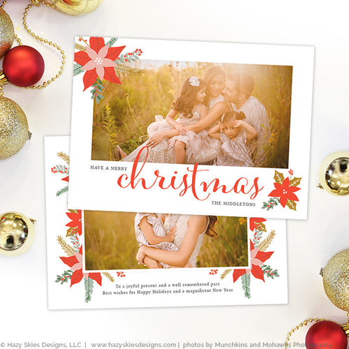 Christmas Card Template | Joyful Present
