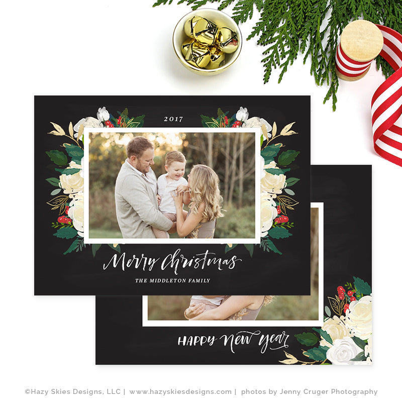 Christmas Card Templates For Photographers Geccetackletartsco - Christmas card templates for photographers