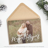 Christmas Card Template | Evergreen