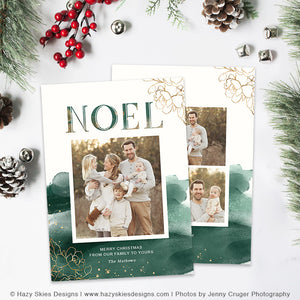 Christmas Card Template | Emerald