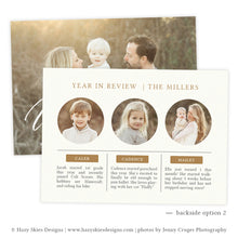 Wonderful Life Holiday Card Template
