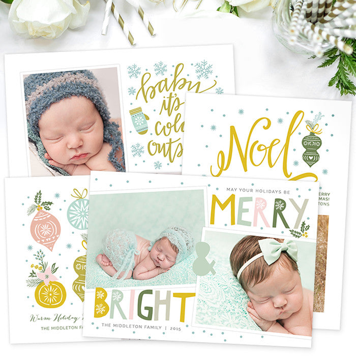 christmas card templates for photographers photoshop photoshop