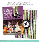 Halloween Card Template