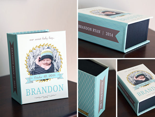 Image Proof Box Template for Photographers