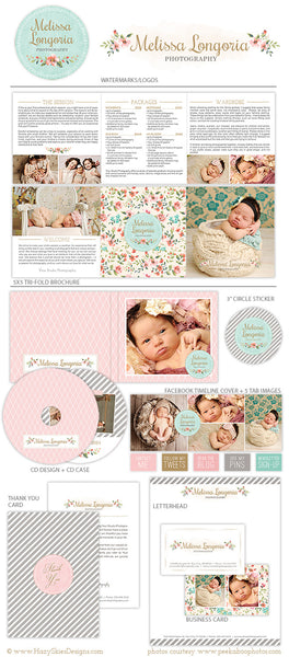 Deluxe Marketing Set for Photographers | Belles Fleurs