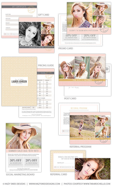 Deluxe Marketing Set for Photographers | Glam