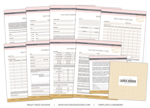 Photography Forms & Contracts | Glam
