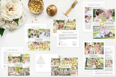 Marketing Set for Photographers | The Deluxe Wedding Set