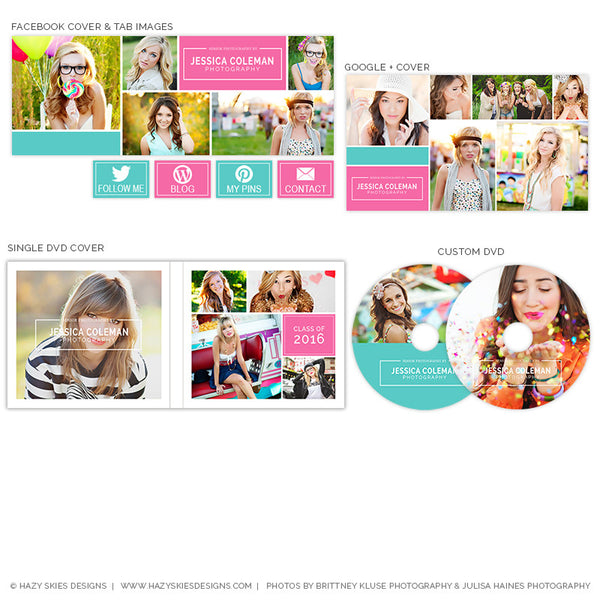 Photography Marketing Set | Modern Grad