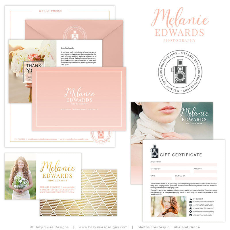 Wedding Photography Marketing Set | Smitten