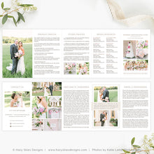 Wedding Photography Welcome Packet | Organic