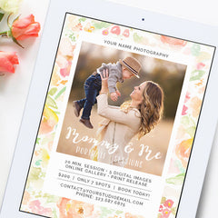 Mini Session Marketing Template | Mommy and Me