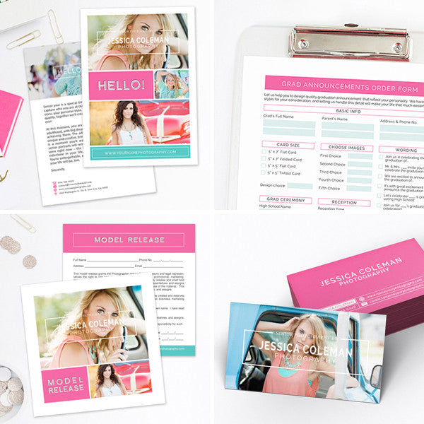 New Client Welcome Packet | Modern Grad