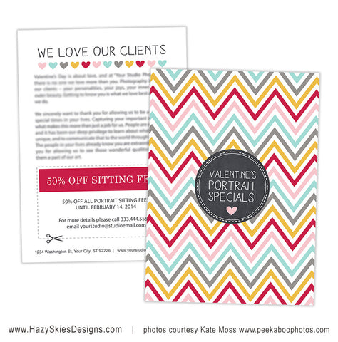 Valentine's Promo Card | I Heart Clients