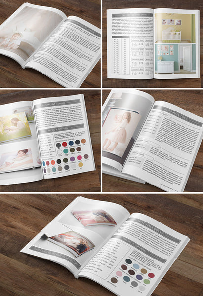 Studio Product Guide | Photography Magazine Template