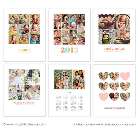 Story Board Collage Templates  | Days of Joy