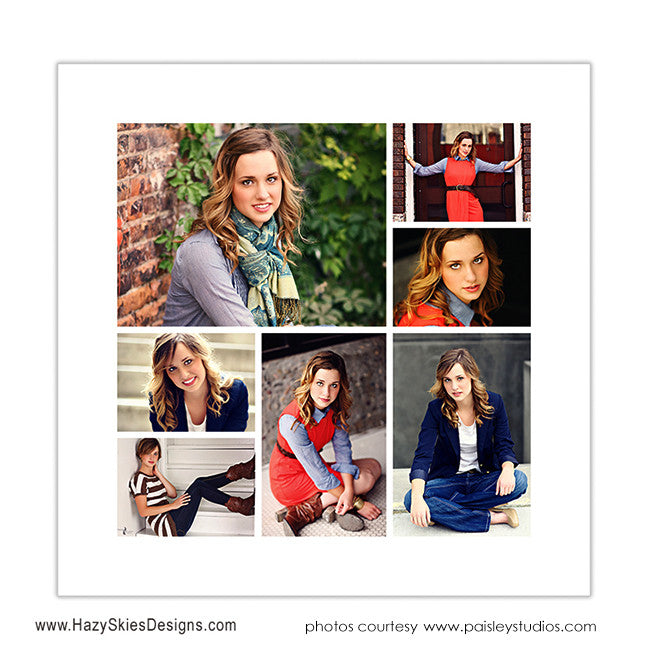 blog board story board collage templates photoshop templates