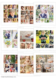 Story Board Collage Templates  | All Eyes On Images